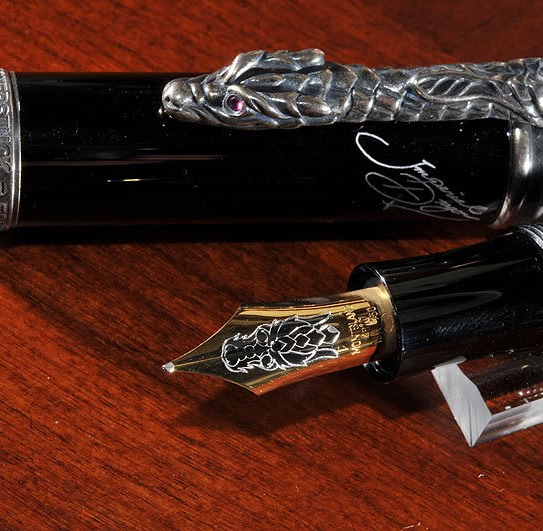 Montblanc Imperial Dragons Full SET (Fountain, Ballpoint, Pencil) $11,000