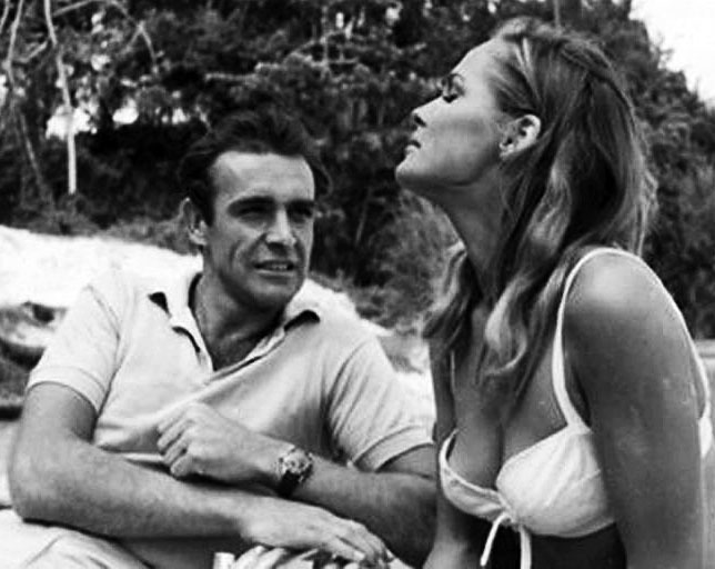 dn dr no foto laughing waters sean connery ursula andress rolex submariner AA 04 01a