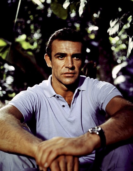 Sean-Connery-as-James-Bond-in-Dr.-No-Rolex-Submariner
